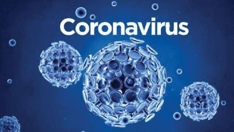 Coronavirus. Virus illustration