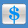 Dollar sign icon button